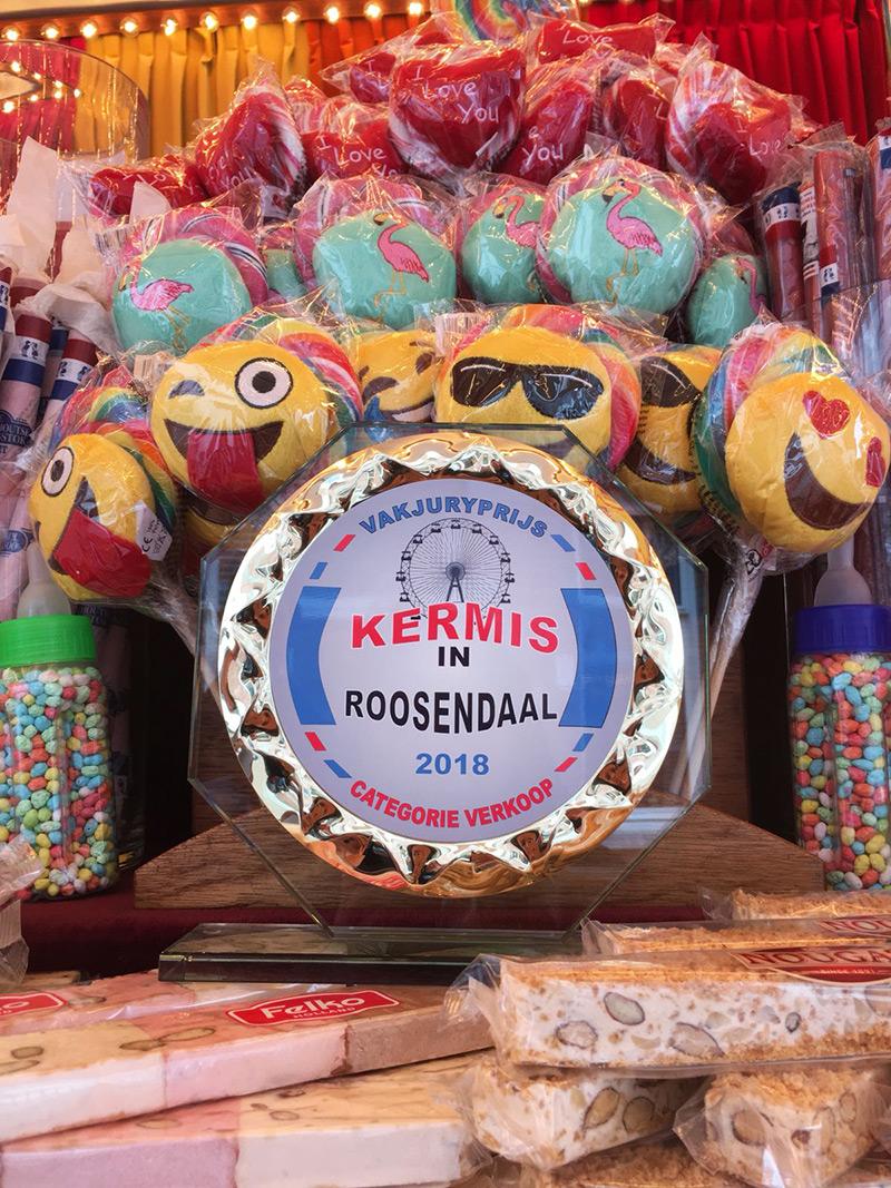 Tiny Paashuis , Kermisprijs Roosendaal