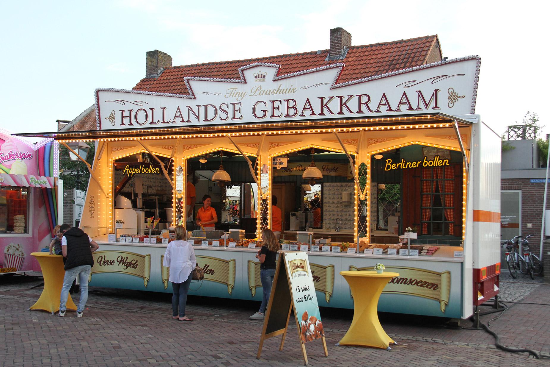 Tiny Paashuis , Hollandse Gebakkraam